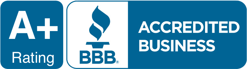 BBB A+ Rating Logo Flow Right Plumbing, Heating and Cooling