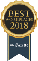 Gazette Best Workplaces Award 2018 Flow Right
